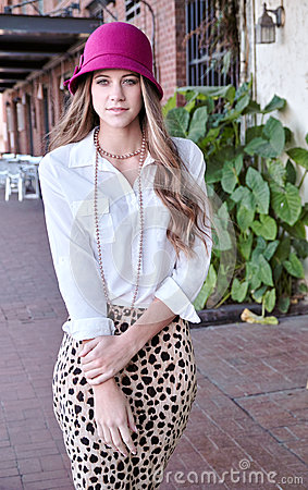 Pretty Teenage Model