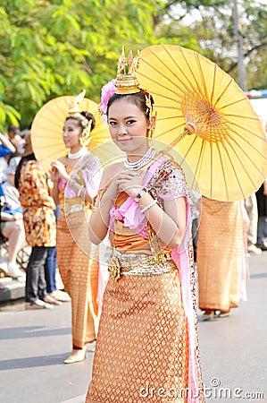 Pretty thai girl Editorial Photography