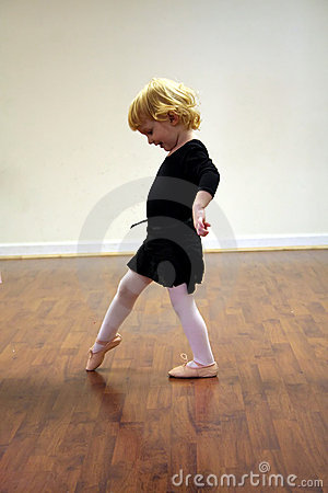 Pretty Toddler Ballerina