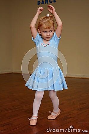 Pretty Toddler Ballerina 5