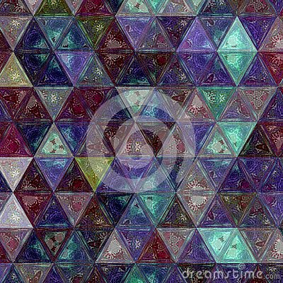 Free Pretty Triangle Purple, Green And White Background Effect Patchwork Royalty Free Stock Photo - 109632865