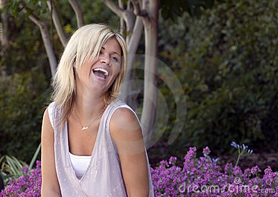 Pretty Woman Laughing