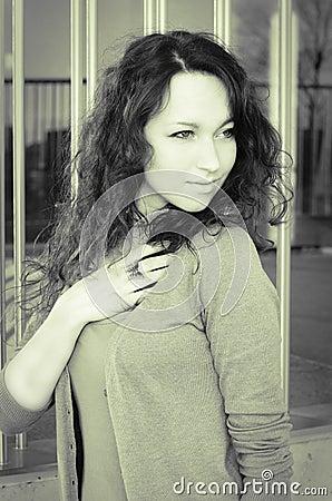 Pretty woman look