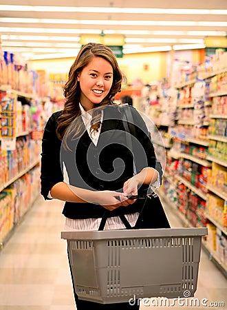 Free Pretty Woman Shopping Royalty Free Stock Image - 1665686