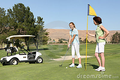 Pretty Women Golfers