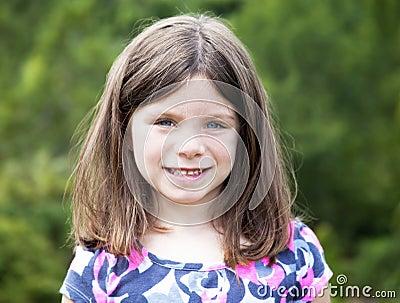 Pretty young girl portrait