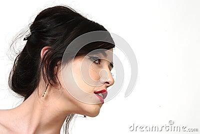 Pretty Young Woman Profile
