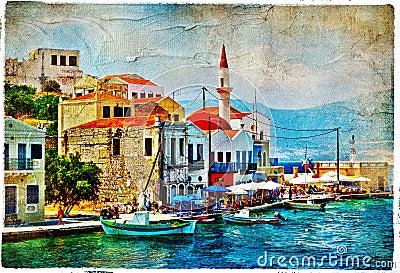 Prety Greece islands