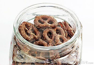 Pretzel in Jar