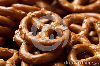 Pretzel salty snack