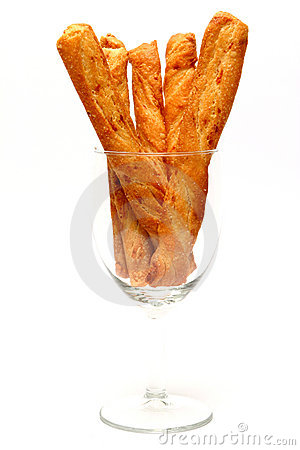 Pretzels in Glass