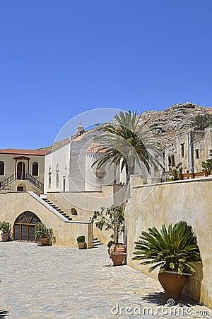 Preveli Monastery in Crete, Greece