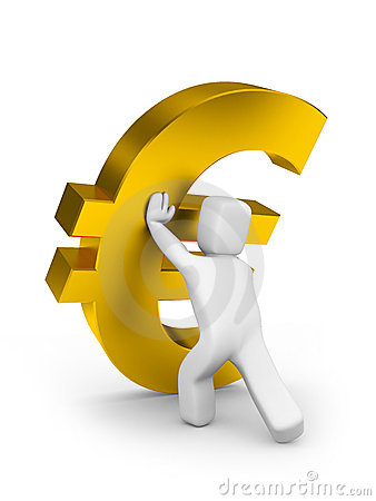 Prevention falling of euro