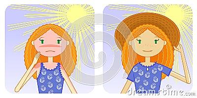 Prevention of sunburn
