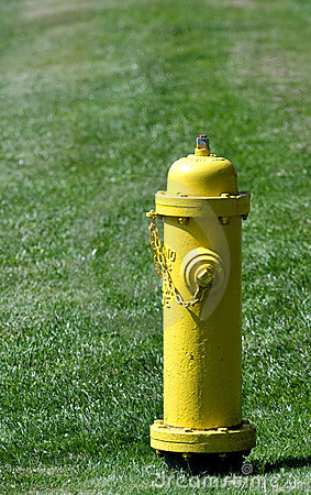 Prevention: yellow fire hydrant