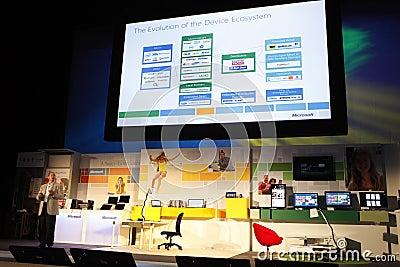 Previsione della versione della finestra 8 Fotografia Editoriale