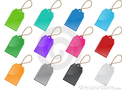 Price and labels tag set