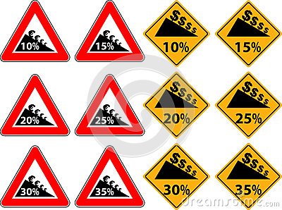 Price reduction as a traffic sign