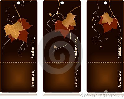 Price, sales tags on dark background