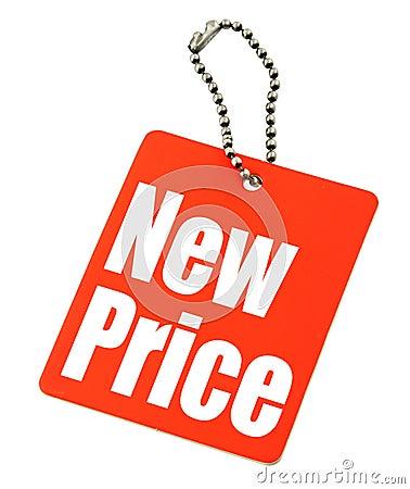 Free Price Tag On White Royalty Free Stock Image - 4870916
