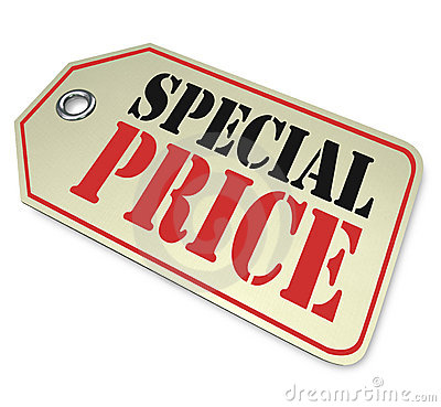 Price Tag - Special Clearance Prices Sale
