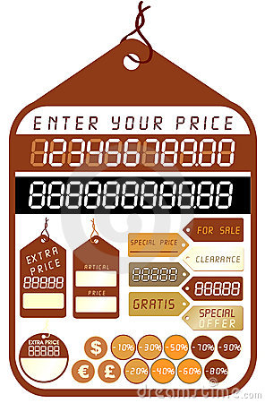 Price Tags - Vector