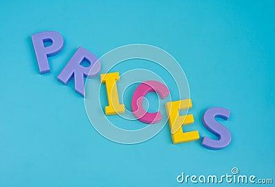 Prices tumbling down.