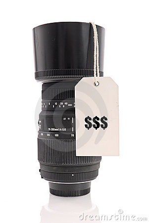 Pricey Lens