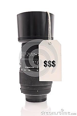Pricey Lens