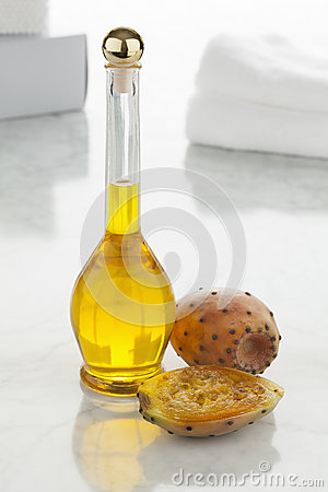 Free Prickly Pear Seed Oil Stock Image - 60856971