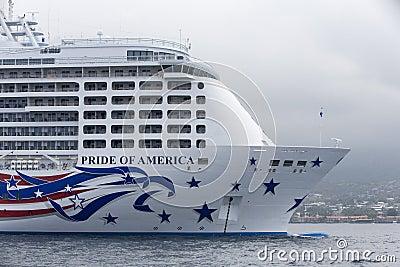 Pride of America Editorial Stock Photo