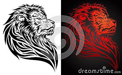 Pride Lion Tattoo