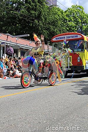 Pride parade Editorial Photo