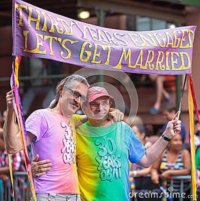Pride Parade NYC 2011 Editorial Stock Photo