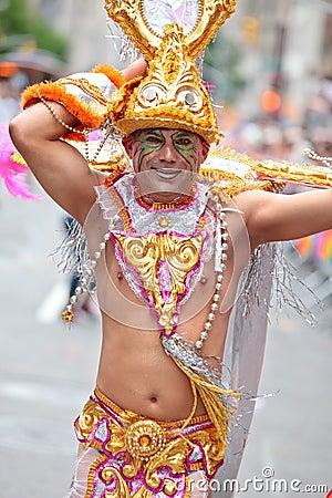 Pride Parade NYC 2011 Editorial Photo