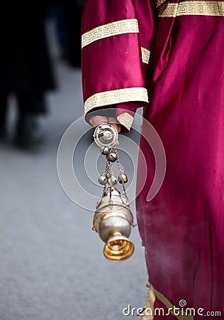 Priest hand