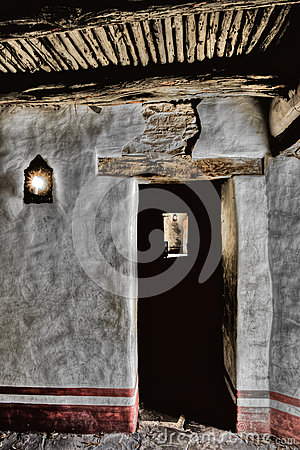 Free Priest Quarters Mission San Jose Royalty Free Stock Image - 70848236