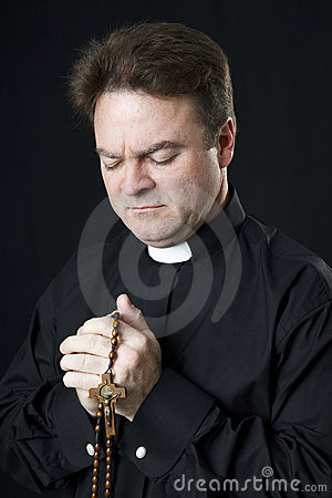 Priest Says the Rosary