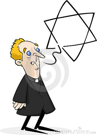 Priest talking about Judaism