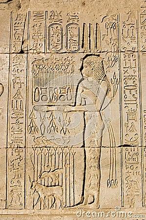 Priestess offering to Goddess Maat