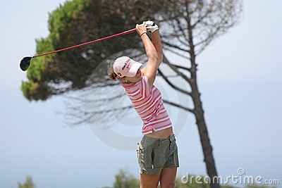 Prieto, Portugal ladies Open 2007, Oitavos Editorial Image