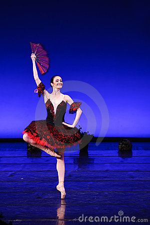 Prima ballerina ballerina Laura Blica Toader Editorial Image