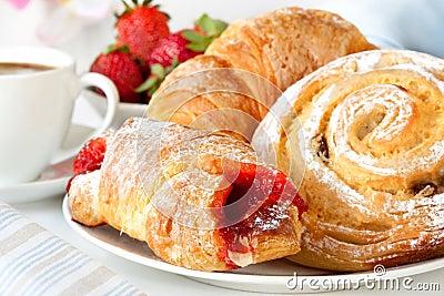 Prima colazione continentale