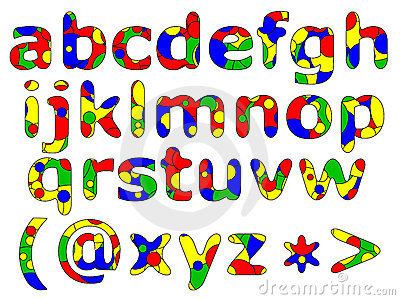 Primary Alphabet Series