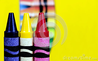 Primary Color Crayons
