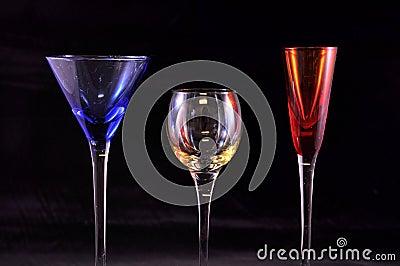 Primary Color Glasses, Black
