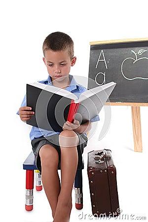 Primary school boy