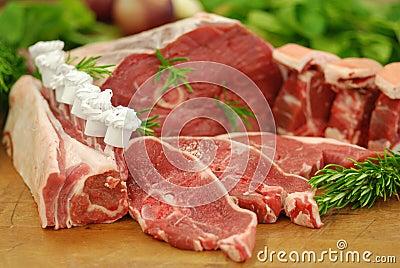 Prime cuts of Lamb