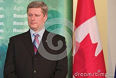 Prime Minister Stephen Harper Editorial Image