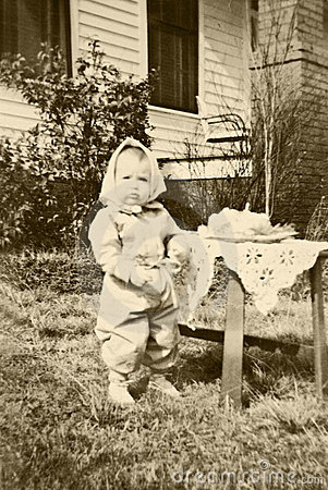 Primer cumpleaños del niño retro